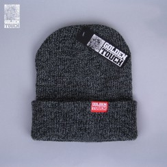 Golden Touch beanie dark grey