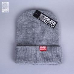 Golden Touch beanie light grey