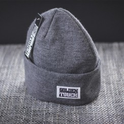 Golden Touch beanie basic grey