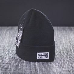 Golden Touch beanie basic black