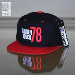 Golden Touch snapback black red