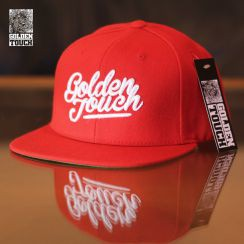Golden Touch snapback Base red